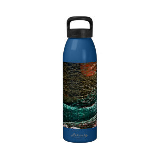 Fishing nets reusable water bottles