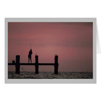 Fishing on the Outer Banks Greeting Card