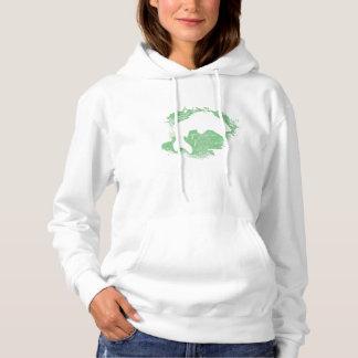 Fishing Paint Splatter Hoodie