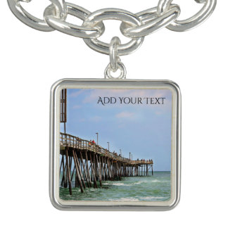 Fishing Pier by Shirley Taylor Bracelets