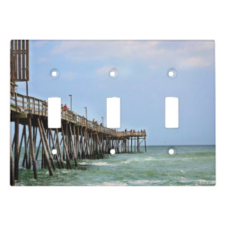 Fishing Pier by Shirley Taylor Light Switch Cover