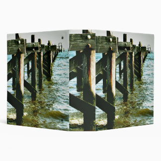 "Fishing Pier Gulf Coast Mississippi Photo2"" Binder"