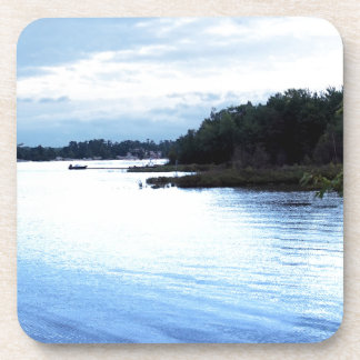Fishing Pine Island causeway Beverage Coaster