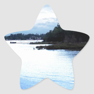 Fishing Pine Island causeway Star Sticker