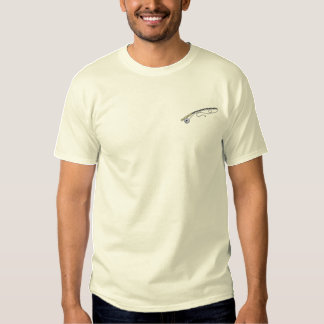 Fishing Pole Embroidered T-Shirt