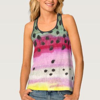 Fishing - Rainbow Trout Skin Tank Top