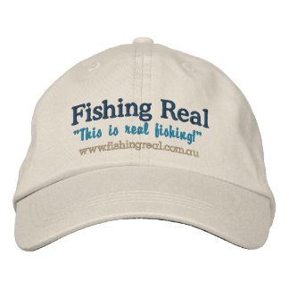Fishing Real merchandise  (Cap) Embroidered Hat