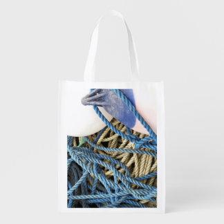 FISHING REUSABLE GROCERY BAG