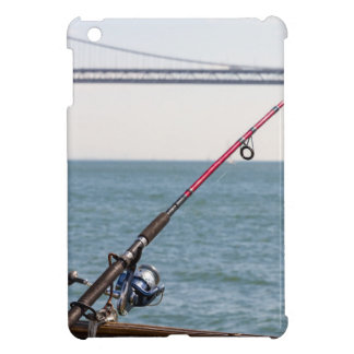 Fishing Rod on the Pier in San Francisco Bay iPad Mini Cover