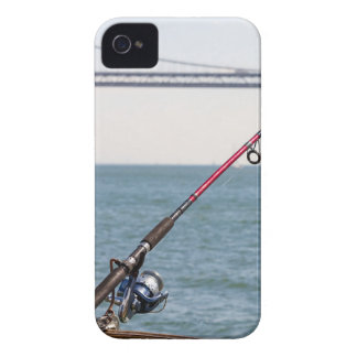 Fishing Rod on the Pier in San Francisco Bay iPhone 4 Case-Mate Cases