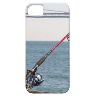 Fishing Rod on the Pier in San Francisco Bay iPhone 5 Case
