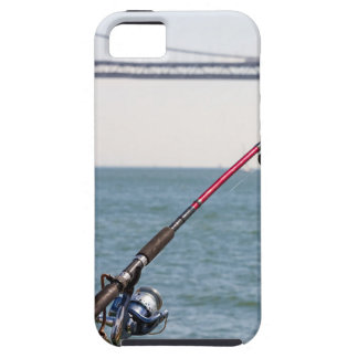 Fishing Rod on the Pier in San Francisco Bay iPhone 5 Cases