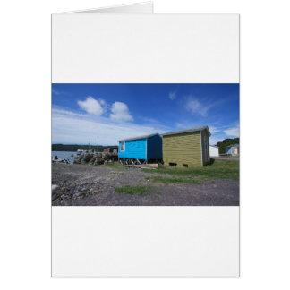 Fishing Sheds Card