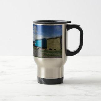 Fishing Sheds Travel Mug