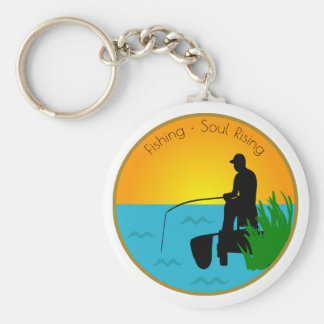 Fishing Soul Rising Keychain