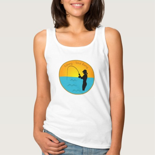 Fishing Soul Rising Tank Top