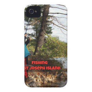 fishing st joesph island iPhone 4 case