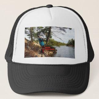 fishing st joesph island trucker hat