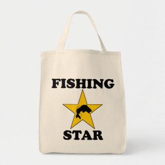 Fishing Star Canvas Bag