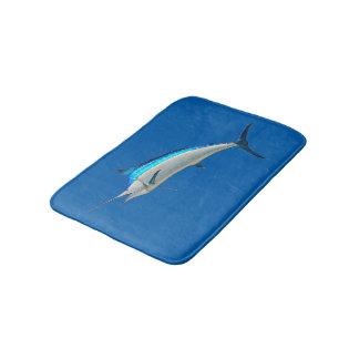 Fishing store bath mat