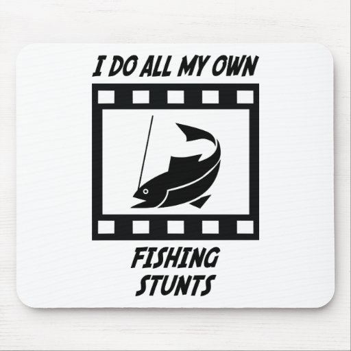 Fishing Stunts Mouse Pad