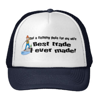 Fishing T-shirts and gifts. Trucker Hat