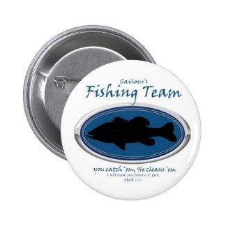 Fishing Team Pinback Button