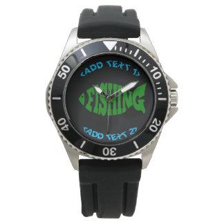 Fishing Text Watch