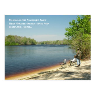 Fishing the Suwannee Postcard