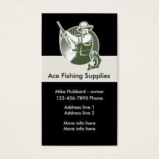 Fishing Theme Business Card