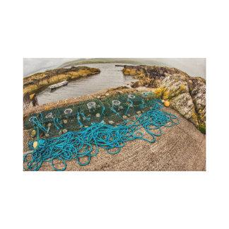 """""""Fishing traps, Ireland"""" wall art"""