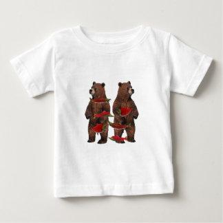 Fishing Upstream Baby T-Shirt