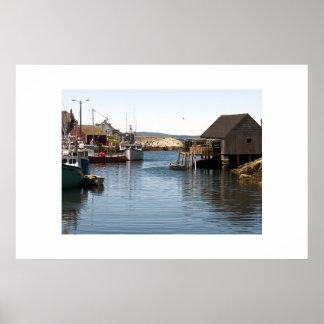 Fishing Village Poster
