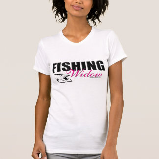 Fishing Widow _wht shrt T-Shirt
