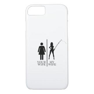 Fishing Wife iPhone 8/7 Case