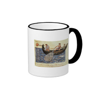 Fishing with a Net Coffee Mugs