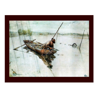 Fishing with Nets 1905 Postcard