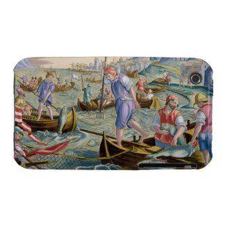Fishing with Nets and Tridents in the Bay of Naple iPhone 3 Cover