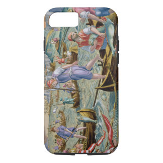 Fishing with Nets and Tridents in the Bay of Naple iPhone 7 Case