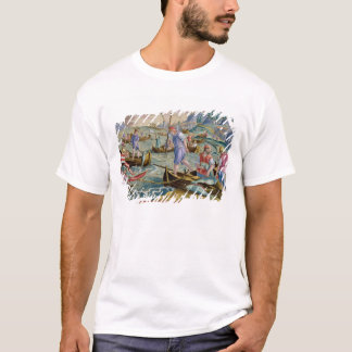 Fishing with Nets and Tridents in the Bay of Naple T-Shirt