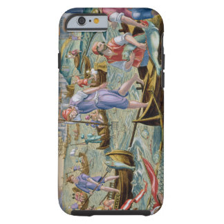 Fishing with Nets and Tridents in the Bay of Naple Tough iPhone 6 Case
