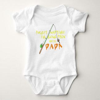 Fishing with Papa Baby Bodysuit