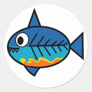 FishingTruths sticker featuring Hugo.