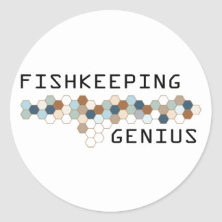 Fishkeeping Genius Sticker