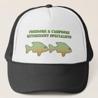 Fishmore & Campsome, Retirement Specialists, cap