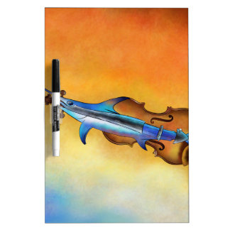 Fisholin V1 - instrumental fish Dry Erase Board