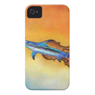 Fisholin V1 - instrumental fish iPhone 4 Case-Mate Cases