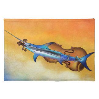Fisholin V1 - instrumental fish Placemat