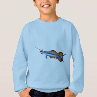 Fisholin V1 - instrumental fish Sweatshirt