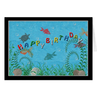 Fishy Birthday Card